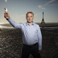 Screenwriter Frank Cottrell Boyce poses for the BAFTA and BFI Screenwriters' Lecture Series 2011.