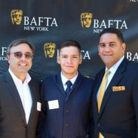 Don Taffner Jr. with Matthew Marquez and George De Jesus from Hunter College.