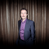 Tomas Alfredson, in house during the event, describes Gary Oldman as 'the swiss army knife of actors'. (Picture: BAFTA / J. Simonds)