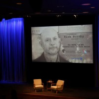 The stage is set for Nick Hornby's BAFTA and BFI Screenwriters' Lecture