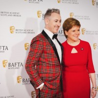 Alan Cumming OBE & First Minister of Scotland Nicola Sturgeon