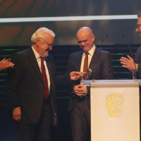 Old Jack's Boat collects the BAFTA for Pre-School Live Action at the British Academy Children's Awards in 2014
