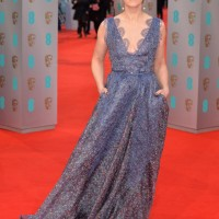 Edith Bowman looks divine in her Yoko London pearls as she arrives on the red carpet