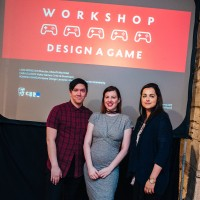 Workshop: Design a Game - Liam Wong, Cara Ellison & Romana Ramzan