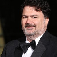 Tim Schafer arrives on the red carpet