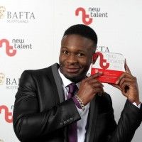 Nick Ikunda winner of the Actor category for 'Happy Together.'