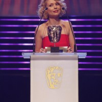 MyAnna Buring presents the BAFTA for Performer at the British Academy Children's Awards in 2014