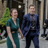 Jessica Ellerby & Nick Hendrix attend the awards