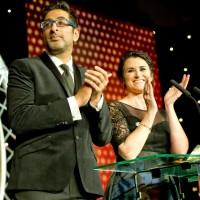 Sanjeev Kohli and Dawn Steele