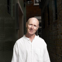 Screenwriter Paul Laverty poses for the BAFTA and BFI Screenwriters' Lecture Series 2011.
