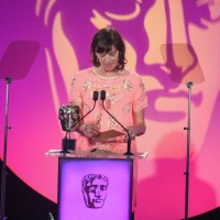 Doon Mackichan presents the award for Director: Multi Camera sponsored by The London Studios at the British Academy Television Craft Awards in 2015