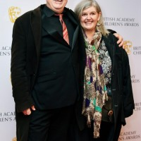 Mark Little and Cath Farr at the BAFTA Children's Awards 2015 at the Roundhouse on 22 November 2015