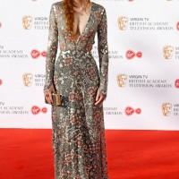 Poldark star Eleanor Tomlinson looks stunning on the red carpet