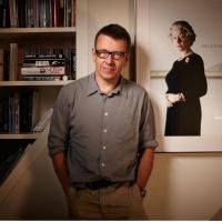 Screenwriter Peter Morgan poses for the BAFTA and BFI Screenwriters' Lecture Series 2010.