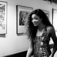 Naomie Harris backstage