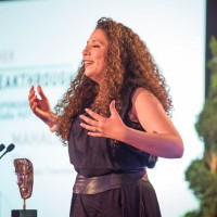 Mahalia Belo wins the Breakthrough Talent award for Ellen