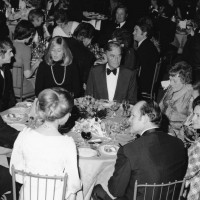 The Royal Table including HRH Princess Anne, David Lean, Julie Andrews & Sydney Samuelson at the SFTA Awards in 1974.