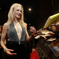 Nicole Kidman arrives on the carpet