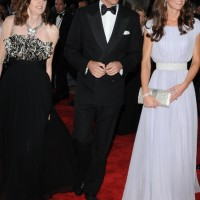 The Royal couple on the BAFTA red carpet in Los Angeles with Amanda Berry