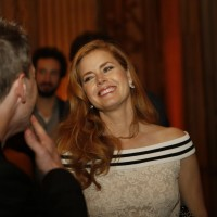 Amy Adams at the BAFTA Nespresso Nominees' Party at Kensington Palace