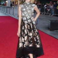 Gotham's Erin Richards on the red carpet