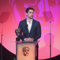 Christian Cooke presents the award for Special, Visual & Graphic Effects at the British Academy Television Craft Awards in 2015