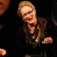 Meryl was full of fun as she reminisced about her astonishing film career spanning over thirty years (BAFTA / Marc Hoberman).