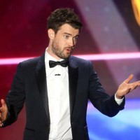 "After the ceremony Whitehall tweeted that he ""had an amazing time hosting the BAFTA LA awards and honoured to have shared the stage with Amy Schumer and her chocolate river."""
