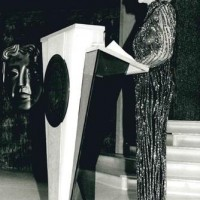 Sian Phillips presenting at the BAFTA Cymru Awards.