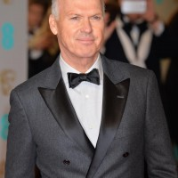 Michael Keaton arrives on the red carpet