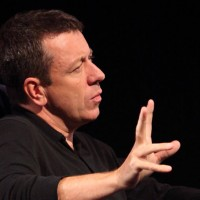 Screenwriting Lecture with Peter Morgan. (Photography: Jay Brooks)