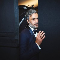 Taika Waititi backstage