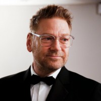 Sir Kenneth Branagh waits backstage before introducing the Fellowship