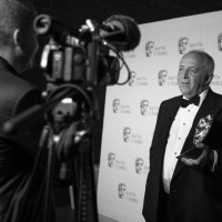 Backstage interviews with winners at the British Academy Cymru Awards at the Wales Millennium Centre, Cardiff Bay on Sunday 26th October 2014.