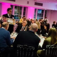 A dinner and auction in our David Lean Room
