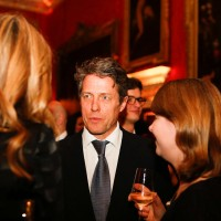 Hugh Grant at the BAFTA Nespresso Nominees' Party at Kensington Palace