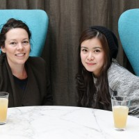 Olivia Colman mentored 2014 Breakthrough Brit Katie Leung