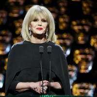 Your host for the evening – Joanna Lumley!
