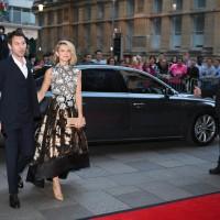 Erin Richards arrives on the red carpet