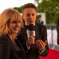 Roman Kemp interviews Fellowship recipient Joanna Lumley ahead of the ceremony