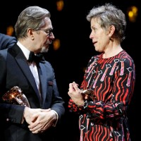 Leading Actor and Actress winners Gary Oldman and Frances McDormand