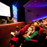 Host a Q&A on stage after your screening