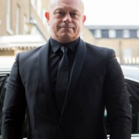 Actor Ross Kemp attends the awards