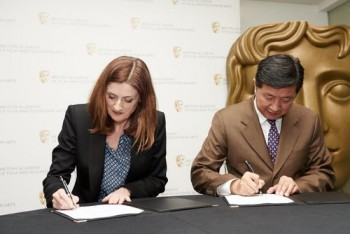 Signing of MOU with Beijing Film Academy