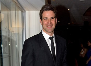 Gethin Jones at the BAFTA Cymru Awards in 2008.