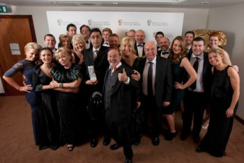 Winners and guests at Glasgow's Radisson Blu Hotel for the British Academy Scotland Awards 2012 on Sunday 18 November
