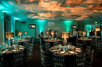 Event: BAFTA Film Gala Fundraising DinnerDate: Thurs 11 February 2016Venue: BAFTA, 195 PiccadillyHost: Rob Brydon-Area: BRANDING & SET UP