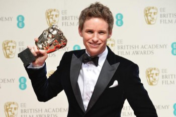 Eddie Redmayne - Leading Actor Winner