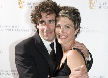 Stephen Mangan & Tamsin Greig ©BAFTA/Chris Sharp