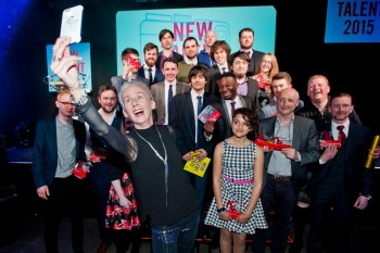 British Academy Scotland New Talent Awards - Group Shot in 2015